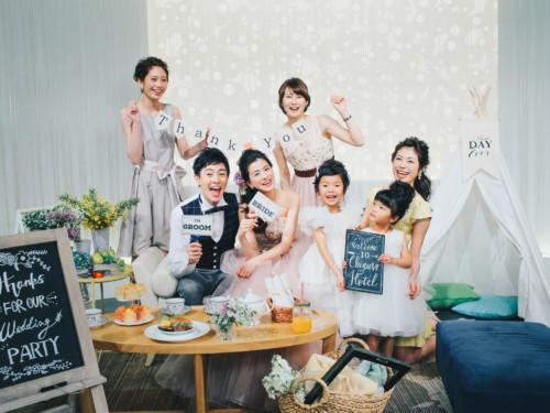 【少人数】家族婚プラン【挙式+会食10名 298,000円】 追加お一人様¥13,000